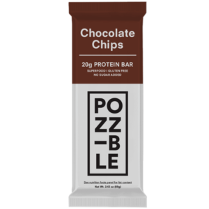 POZZIBLE Bar Chocolate ChipsPOZZIBLE Bar Chocolate Chips