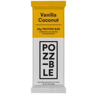 POZZIBLE Bar Vanilla Coconut